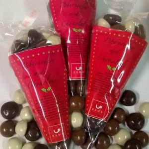 Pebernødder med chokoladeovertræ Kama